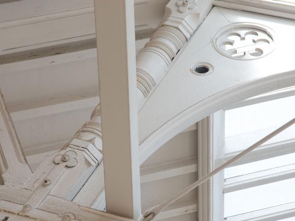 Detail of the NTU architecture studios
