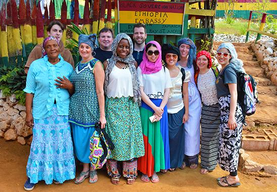 Cultural Immersion trip to Bobo Hill, the Rastafarian Camp in Bull Bay, Jamaica