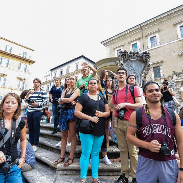 On-site photography class in Trastevere