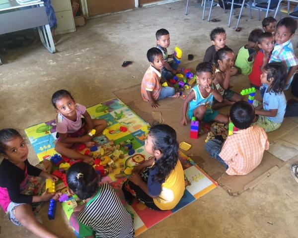 Kindergarten Students on Chuuk