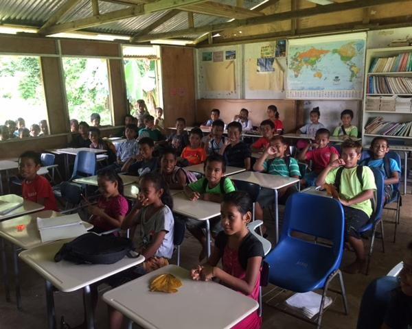 Elementary School Classroom on Chuuk