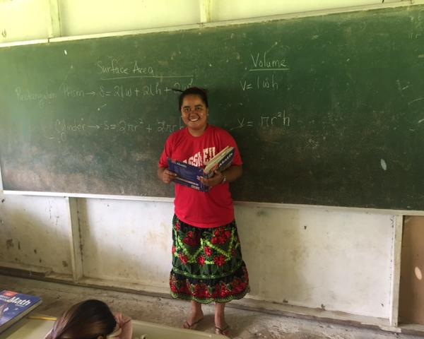 Elementary School Teacher on Chuuk