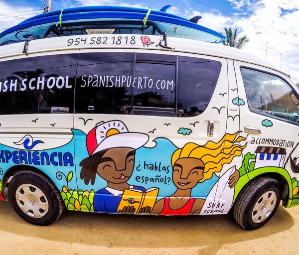 Experiencia Surf Van