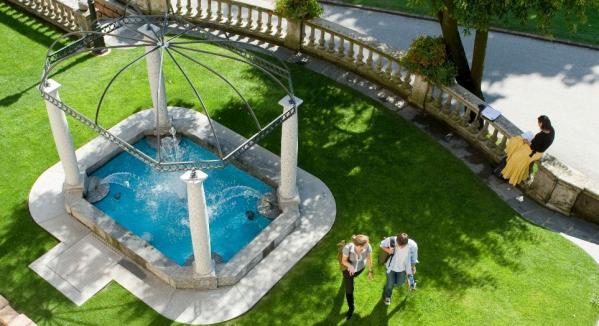 Franklin College Switzerland North Campus Fountain