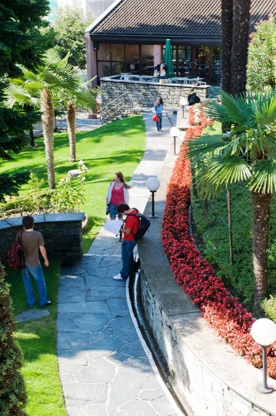 Franklin College Switzerland Kaletsch Campus Grotto