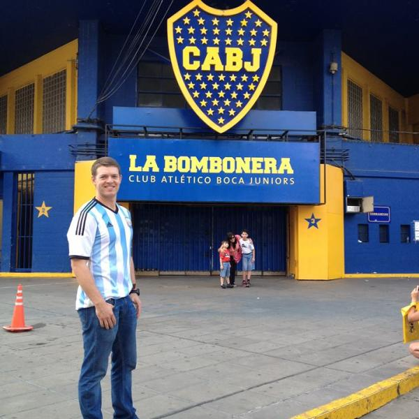 Buenos Aires is famous for futbol!