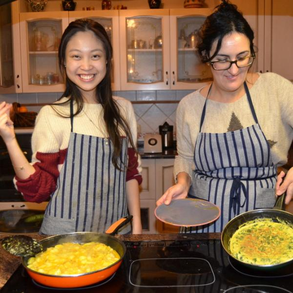 Spanish immersion and gastronomy program