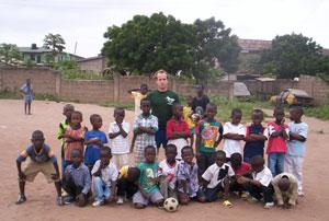 Coach Football to Underprivileged Children in Ghana | travellersworldwide.com