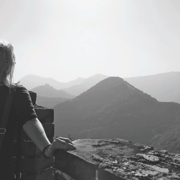 Ilyse conquered the Great Wall in her spare time.