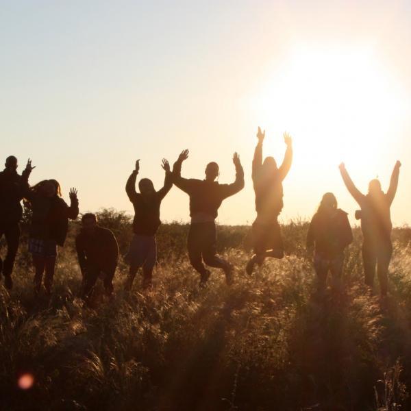 Volunteers the bufferzone to Central Kalahari Game Reserve, Botswana