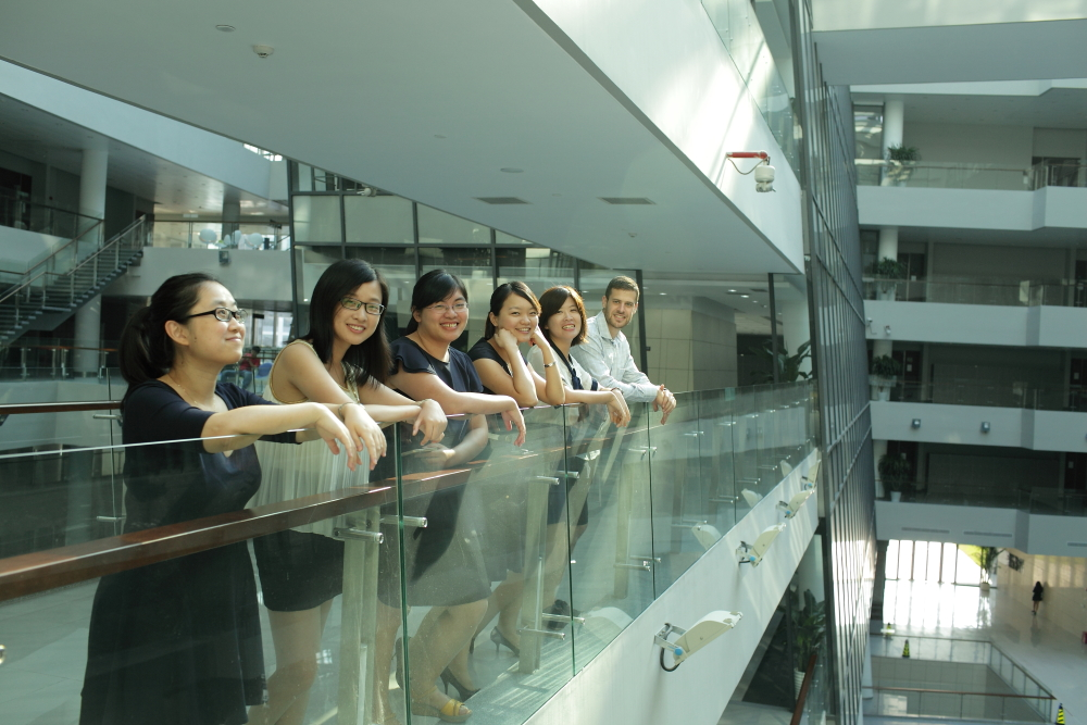 students at Peking University