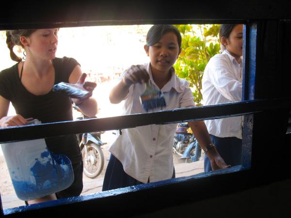 Volunteer work in Cambodia