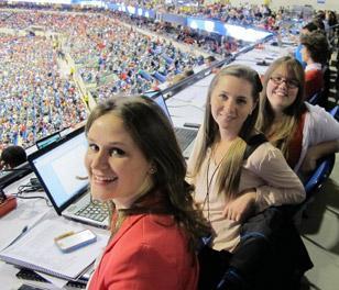 sport journalism internship