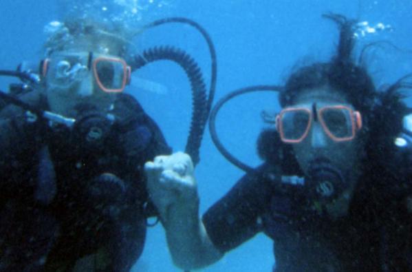 Intro to Scuba Diving at Kho Phra Ngan, Thailand