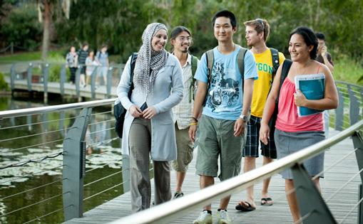 IWC students at The University of Queensland