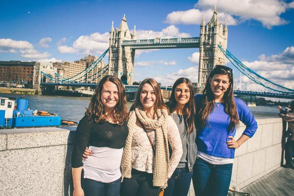 Athena Study Abroad London, England Students