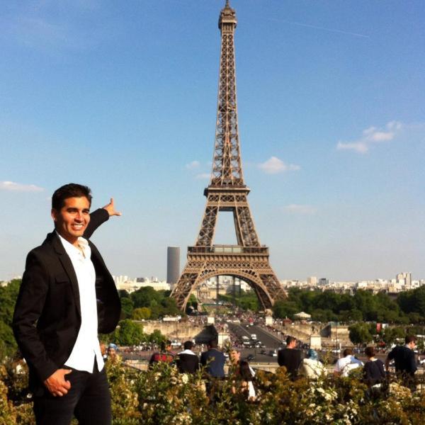 Mario, language assistant in Paris