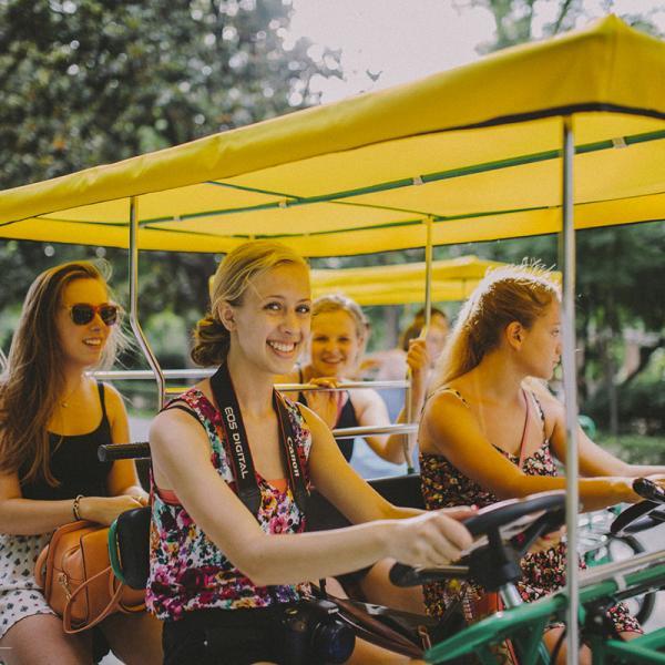 Discovering Parque de María Luisa in Sevilla, Spain  - Educational tour in Spain