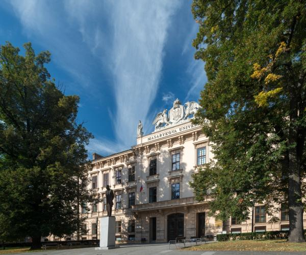 Masaryk University - one of the central buildings