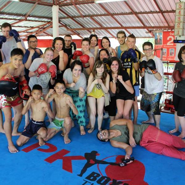 Teach English in Thailand Muay Thai