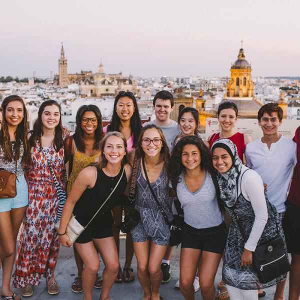 Visiting the Setas in Sevilla, Spain