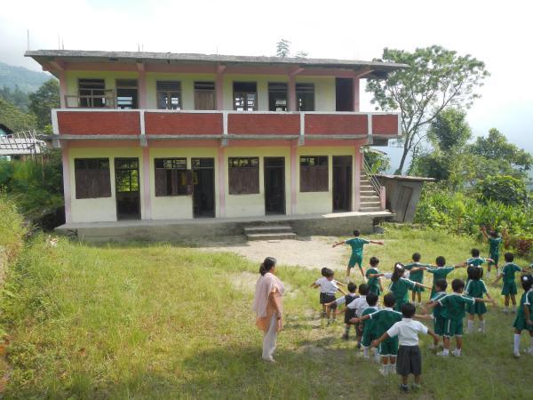 New school building in West Bengal