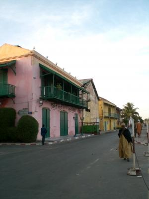 Street Scene in St. Louis, Senegal, taken by a Projects Abroad Volunteer
