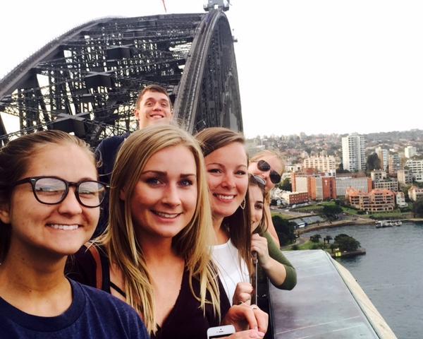 ISA Interns during the Bridging Cultures Program in Sydney, Australia