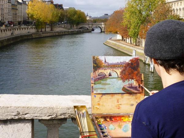 Athena Study Abroad Paris, France Art Class