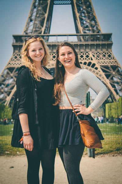 Athena Study Abroad Paris, France Students