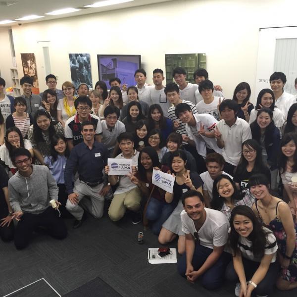 Internship in Japan party