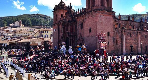 Festival in Cusco