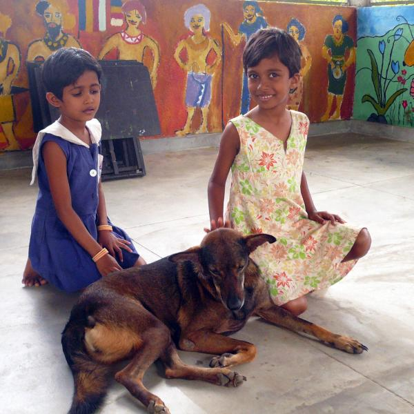 Volunteering with children in Sri Lanka