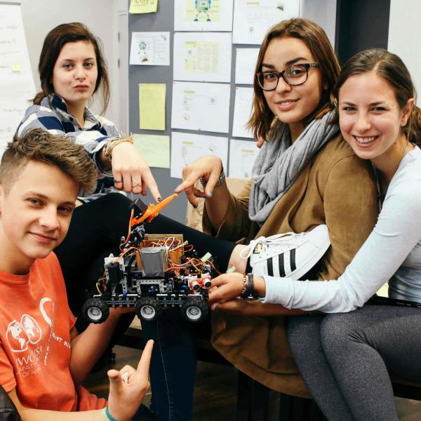Robotics in Europe gap year programs