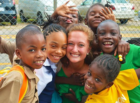 Volunteer Teaching in Jamaica