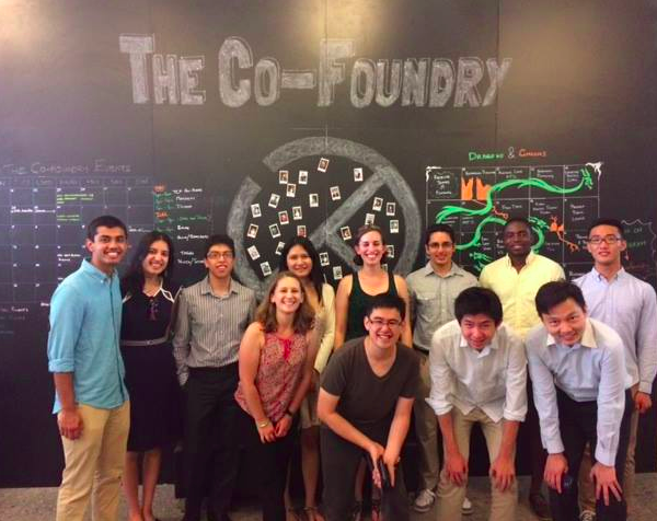Visiting the co-working space, Co-Foundry, in Singapore