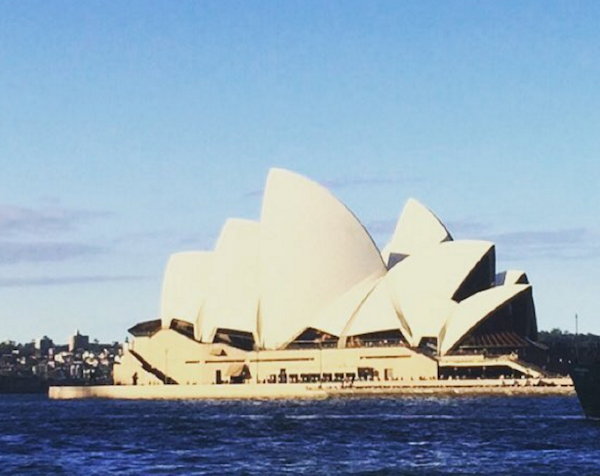 Photo of the Sydney Opera House by a Sage Corps fellow
