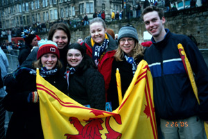 Study abroad in St Andrews, Scotland