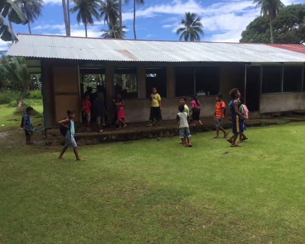 Elementary School Building on Chuuk