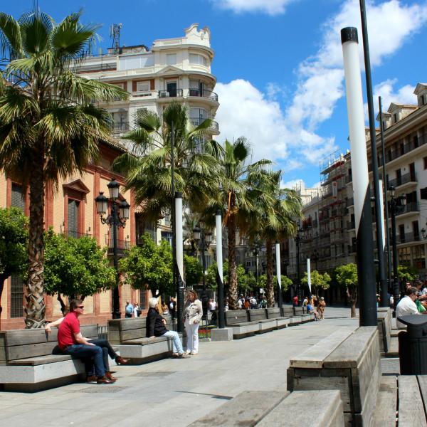 Street View - Intern in Seville - Adelante Abroad