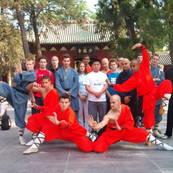 CIP Participants at Shaolin Temple