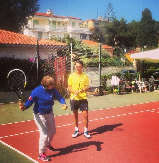 Tennis in San Remo