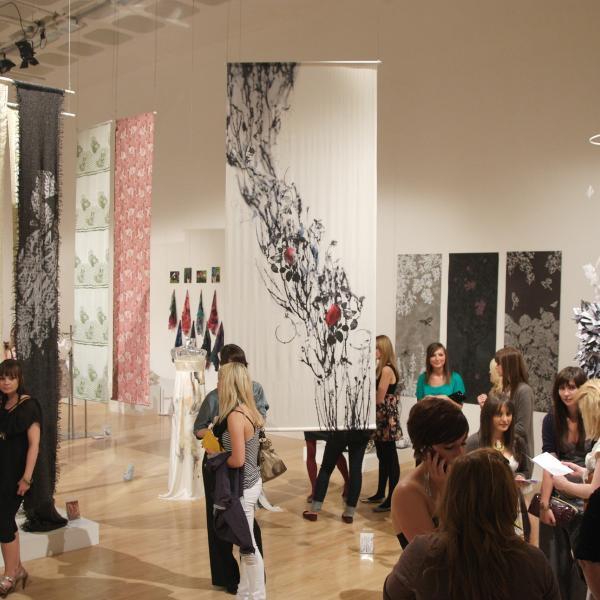 Textiles show at Nottingham Trent University