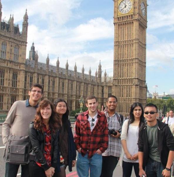 Group at Big Ben