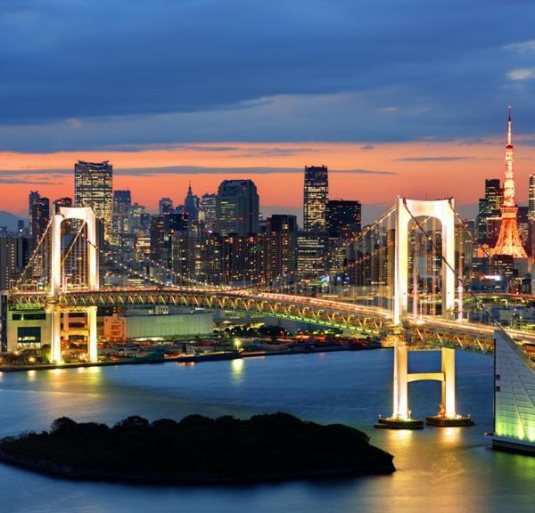 Bridge in Tokyo, Japan