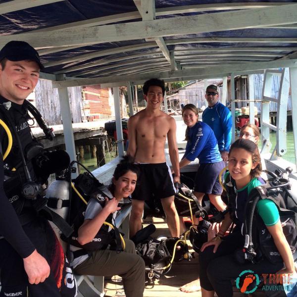 Scuba Diving in Gulf of Cambodia