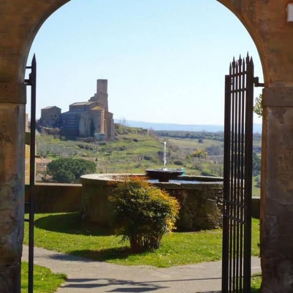 Athena Study Abroad Tuscania, Italy City Fountain