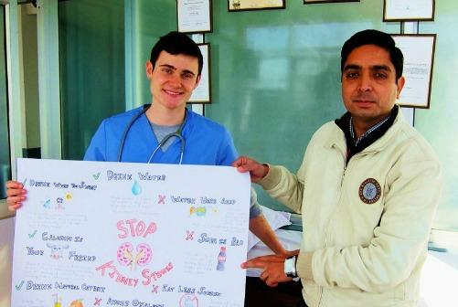 volunteer in medical internship