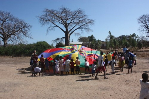 teaching and sports facilitation project in Malawi
