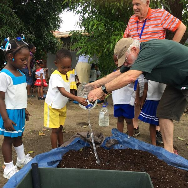 Gardening Volunteer Projects in St. Lucia